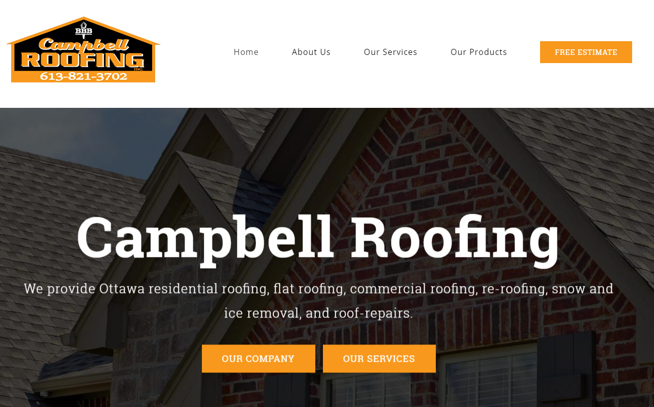 About Our Company And Our Expert Team Campbell Roofing